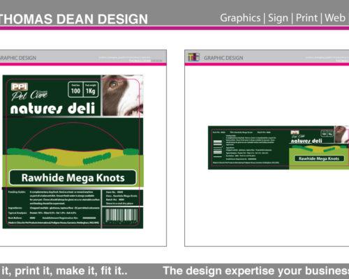 PPI – Nature's Deli Labels