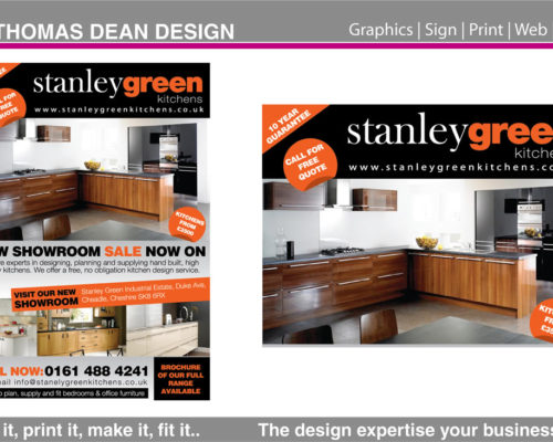 Stanley Green Business Flyer