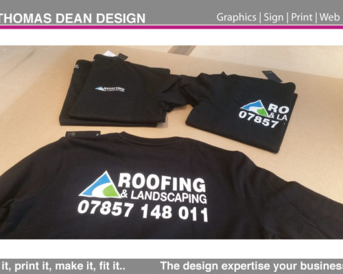 Roofing & Landscaping Sweaters
