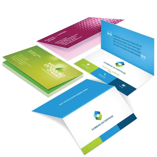 Folded Business Cards | TDD