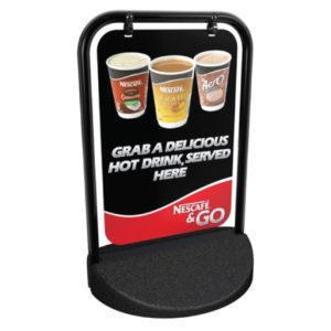 Nescafe hot drink banner