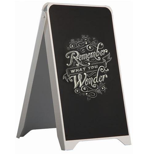 Plastic-Black-Chalk-Marker-A-Board-Pavement-Sign-Holder