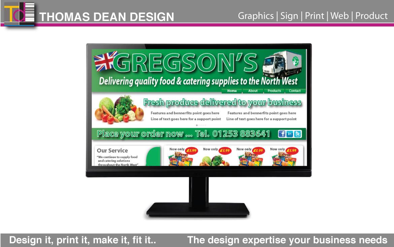 Gregsons – Website