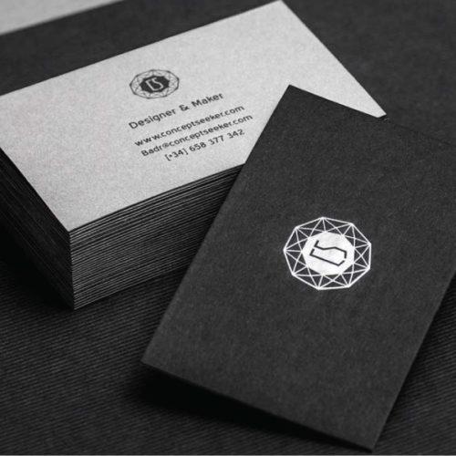 website design cards