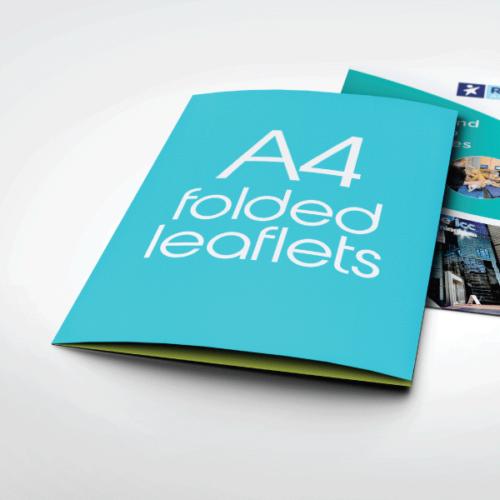 A4-Folded-Leaflets