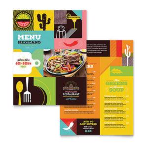 menu mexicano
