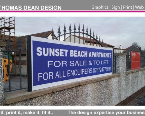 Lytham Property Rentals – Site Signs