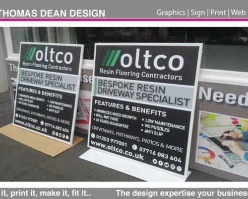 Oltco Trade Display Boards