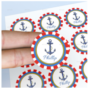 Round-Stickers