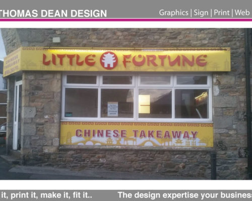 Little Fortune Shop Sign