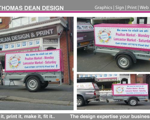 Bonney Fabrics Vehicle Graphics