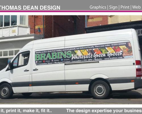 Brabins Vehicle Livery – Blackpool