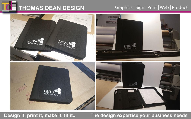 Leith Planning – Branded Business Folder