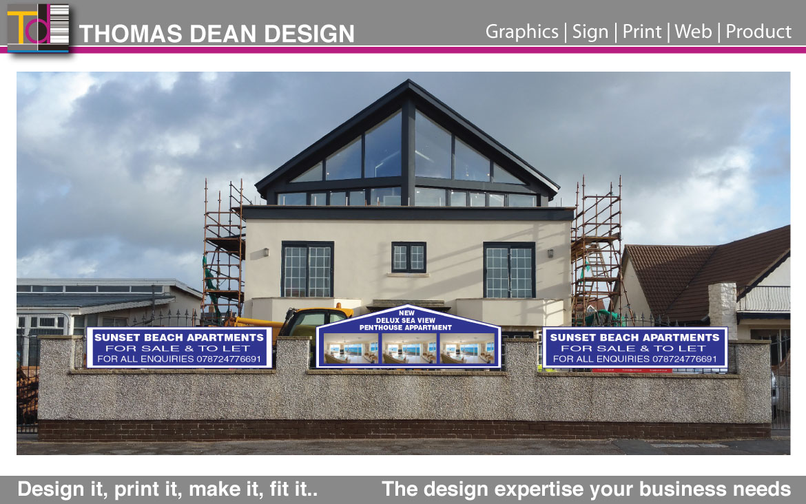 Lytham Property Rentals – Site Signs