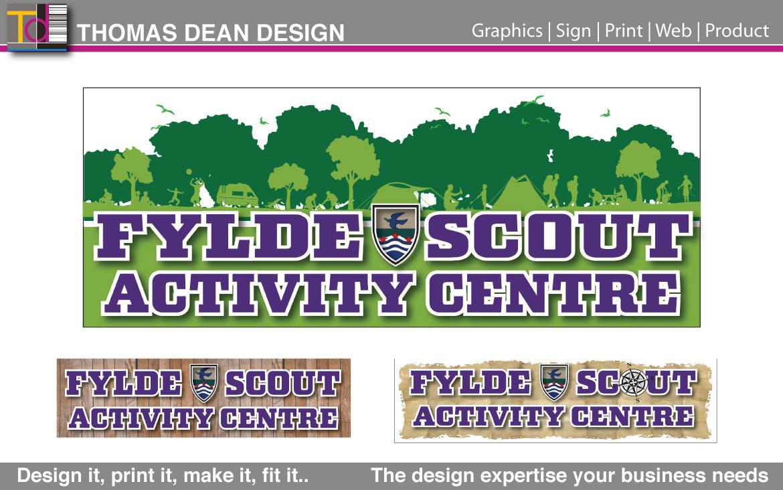 Fylde Scout Activity Centre Signs