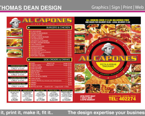 Al Capone's Pizza – Blackpool