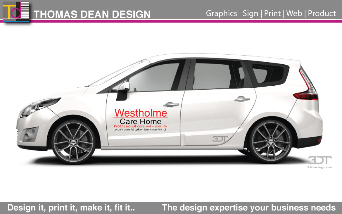 Westholme Care Vehicle Graphics