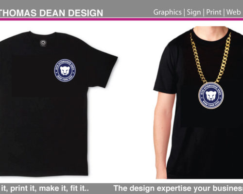 Bear Your Soul Apparel Big Chain T-Shirt