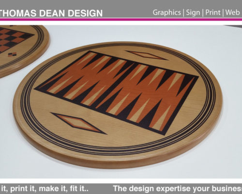 Barons Furniture – Backgammon Board
