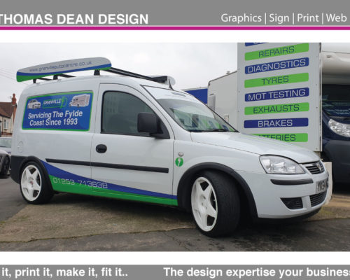 Granvilles Auto Centre – Sports Van