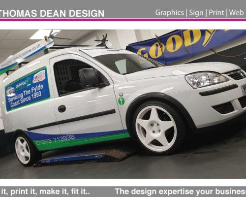 Granville Auto Centre – Vehicle Graphics
