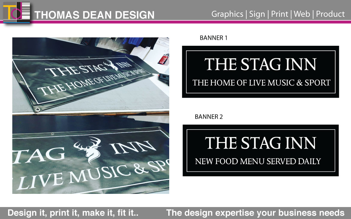 The Stag Pub Banners – Bolton