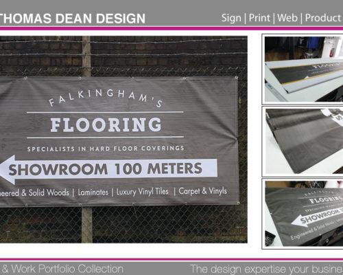 Falkinghams Flooring Banner