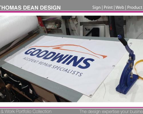 Goodwins Sign Banner