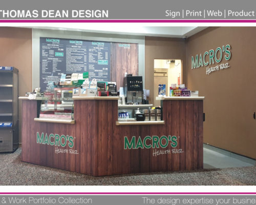 Macros Shop Sign