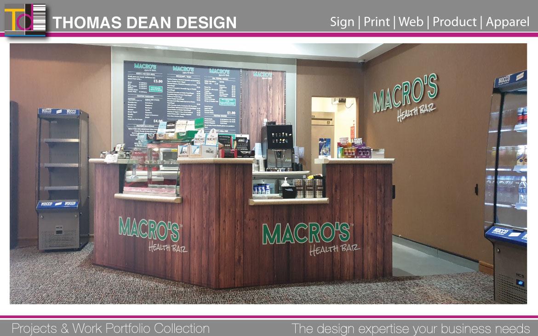 Macros Health Bar