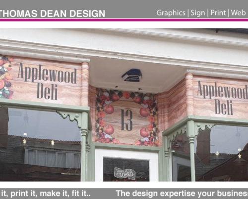 Applewood Deli – Shop Signage