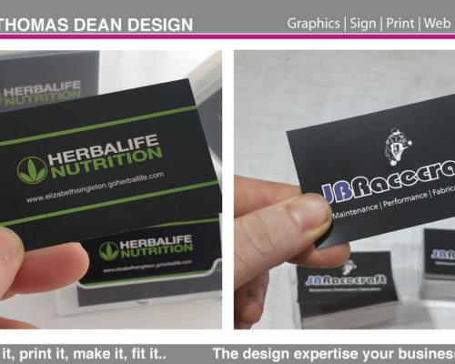 Business Card Printing – Premium Stock 400
