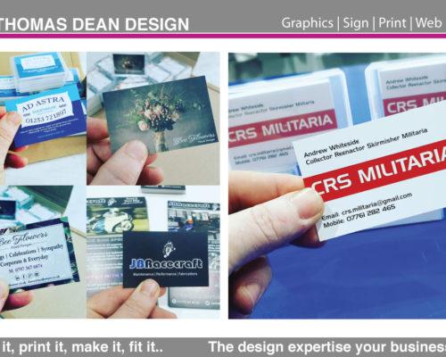 Business Card Printing – Premium 400gsm