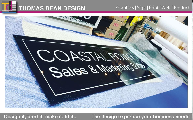 Acrylic Panel Sign