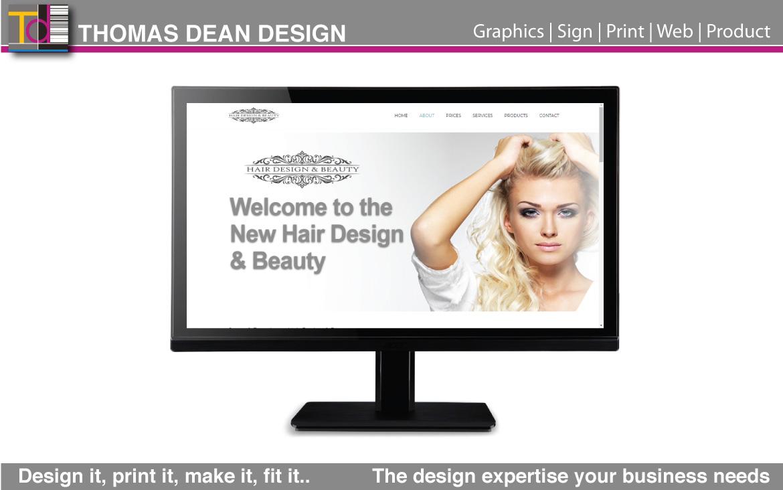 Hair Design & Beauty – Website