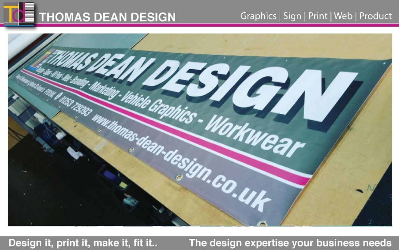 TDD – Sign Banner