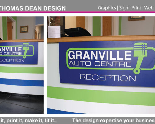 Granville Auto Centre Reception Desk