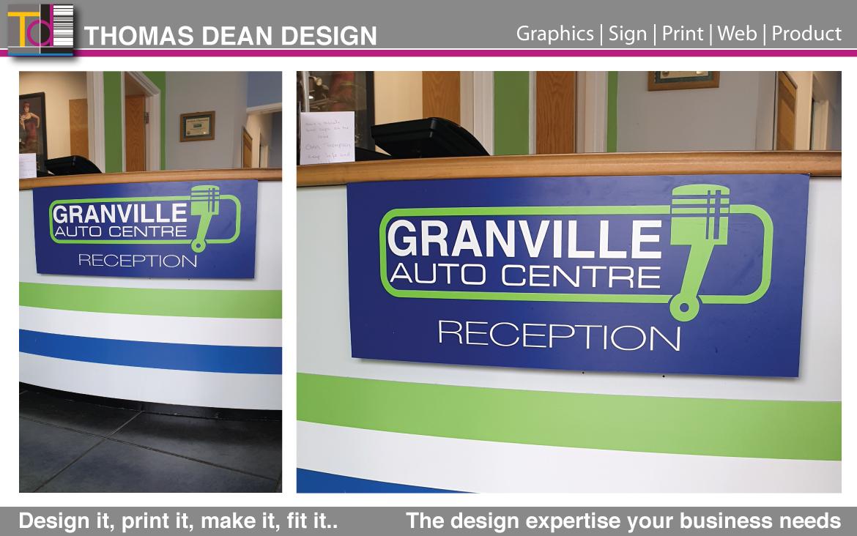 Granville Auto Centre Reception Desk