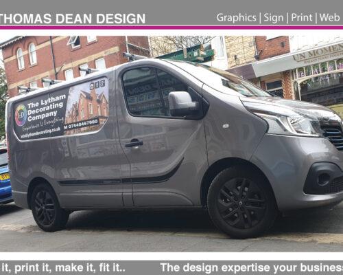 Lytham Decorating Vehicle