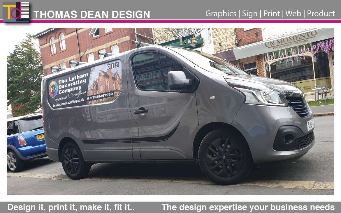 Lytham Decorating Vehicle