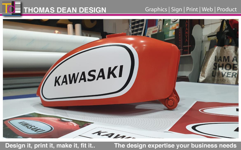 Kawasaki Fuel Tank